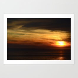 Marin Headlands Sunset Art Print
