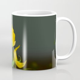 Yellow Fabaceae Coffee Mug