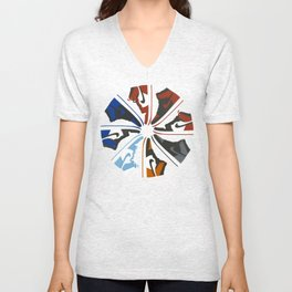 Color Wheel No.001 Unisex V-Neck