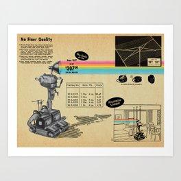 It Shoots Rainbows! Art Print