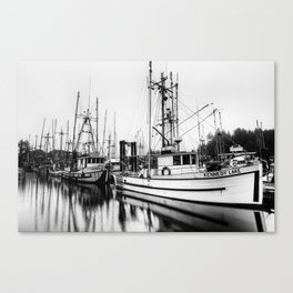 Ucluelte Harbour - Vancouver Island BC Canvas Print