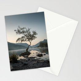 Tree at Llyn Padarn III Stationery Cards