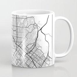 Minimal City Maps - Map Of Santa Ana, California, United States Coffee Mug