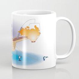 Japanese Cormorant fishing Coffee Mug