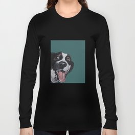 Maeby the border collie mix Long Sleeve T-shirt