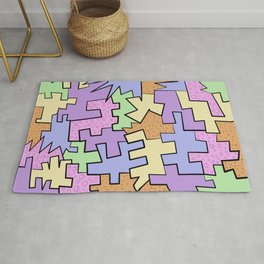 Puzzling  Rug