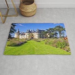 France Chaumont-sur-Loire castle Castles Lawn Bush Cities Shrubs Rug