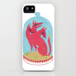 Don't Keep Your Hellbeasts in Glass Jars  iPhone Case