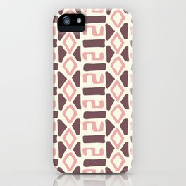 Pink Fall Tribal #society6 #tribal iPhone Case