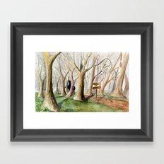 Middle Earth Framed Art Print