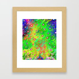 A Crash of Colors, fantasy art Framed Art Print
