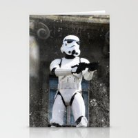 storm trooper Stationery Cards featuring Storm Trooper by BuyArt