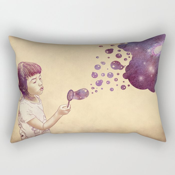 Cosmic Bubbles Rectangular Pillow
