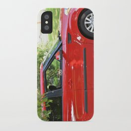 Yorkie Driving iPhone Case