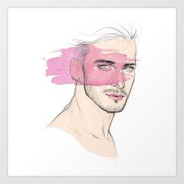 Lipstick Art Print