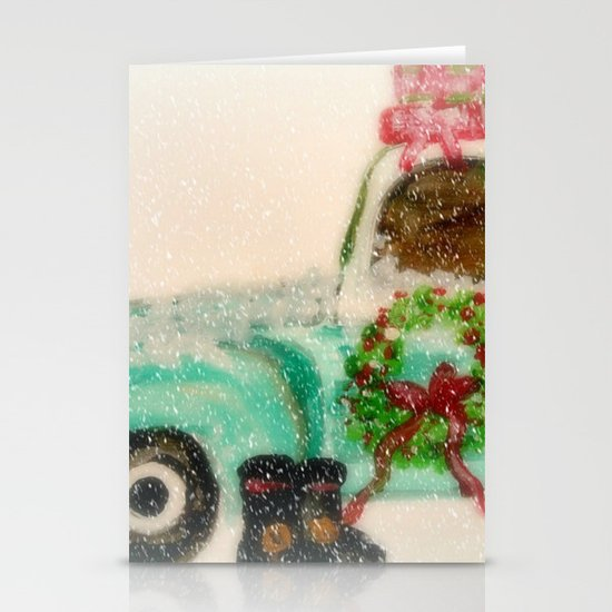 Santa's Ride Stationery Cards