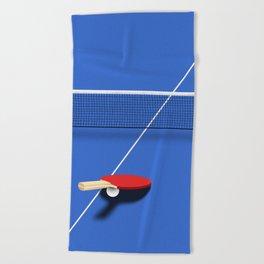 Ping Pong Beach Towel