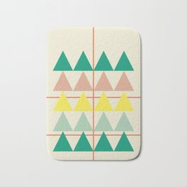 disguise forest || early summer Bath Mat