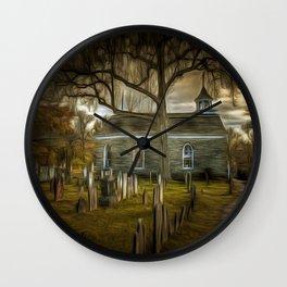 The Haunted Church Wall Clock