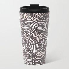 Doodle 10 Metal Travel Mug