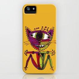 serge-pichii-cat-0207 iPhone Case