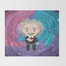 Einstein Throw Blanket