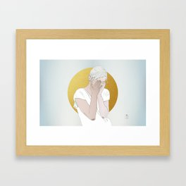 OUR INVENTIONS (Rest Your Head) Framed Art Print