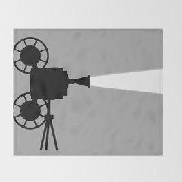 Movie Cine Projector Throw Blanket