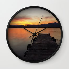 Tepecoacuilco Lake Wall Clock