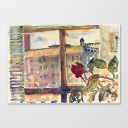 View over Broadway, NYC Canvas Print