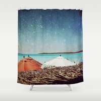 Triple Canopy Shower Curtain