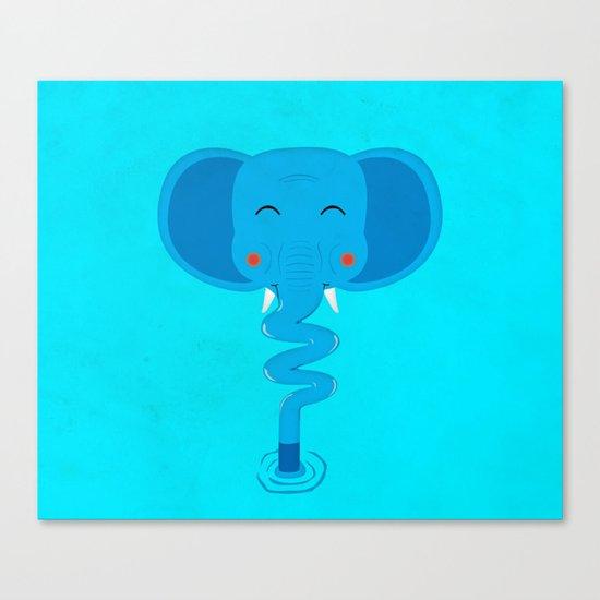 Elefun Canvas Print