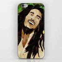 marley iPhone & iPod Skins featuring Marley Collage by Emily Harris