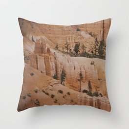 In waves Throw Pillow
