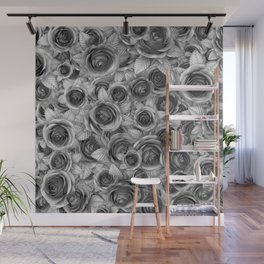 Faded Roses Wall Mural