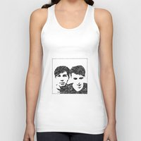 danisnotonfire Tank Tops featuring Danisnotonfire & AmazingPhil by xzwillingex