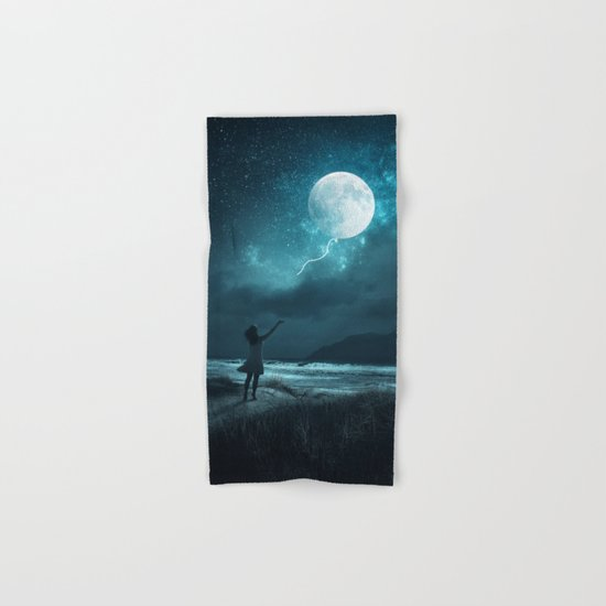 MOON BALLOON Hand & Bath Towel