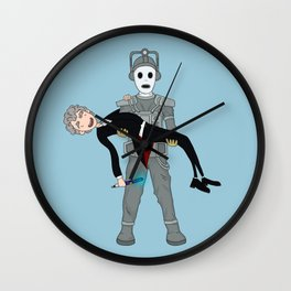 Cyberadventure Time Wall Clock
