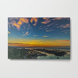 Dawn over Dana Point Metal Print
