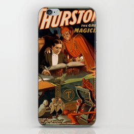 Vintage poster - Thurston the Magician iPhone Skin