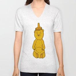 Honey Bear Unisex V-Neck