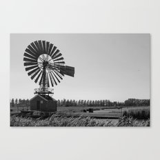The old village mill Canvas Print