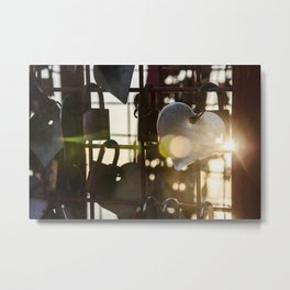 Unchain my Heart Metal Print