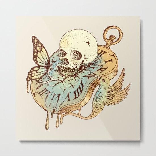In Time Metal Print