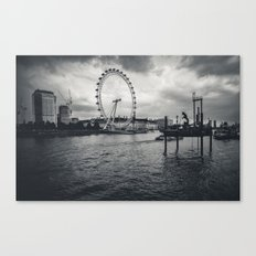 London by the Thames Canvas Print