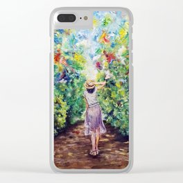 A Midsummer Day's Dream Clear iPhone Case