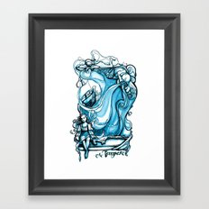 The Tempest - Miranda - William Shakespeare Art Framed Art Print