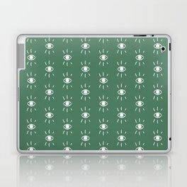Eye Pattern in Green Laptop & iPad Skin