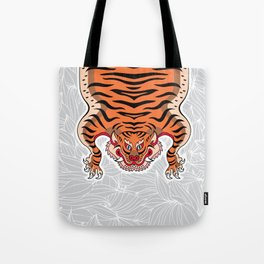 TIBETAN TIGER (white) Tote Bag