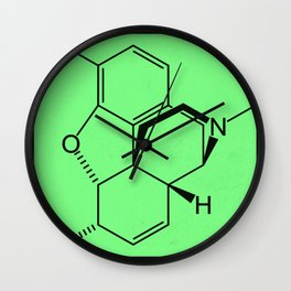 Morphine Wall Clock